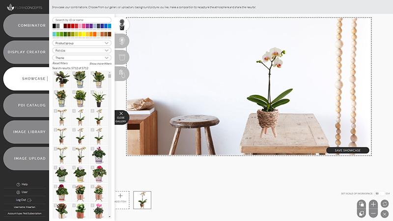 Showcase Floraconcepts
