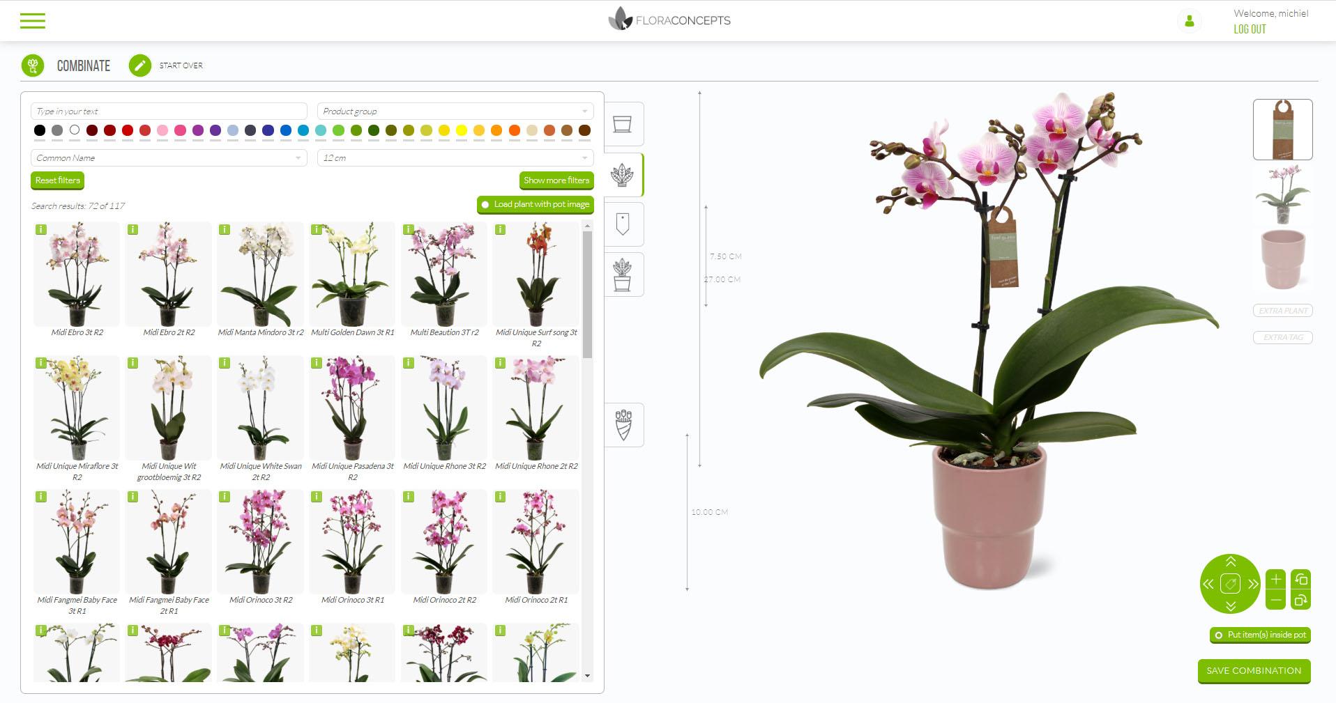 Combinator Floraconcepts