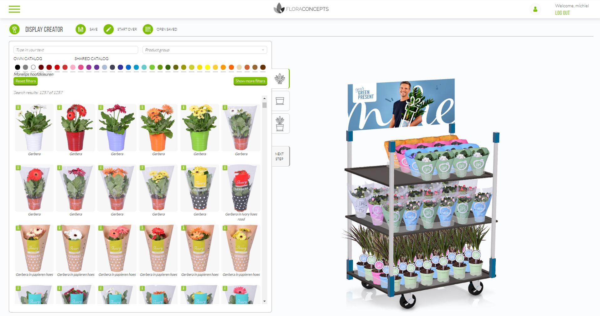 Display Creator Floraconcepts